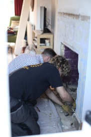 Baz and Owen at work 6