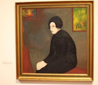 Margery's painting 9 'The Artist's Widow'