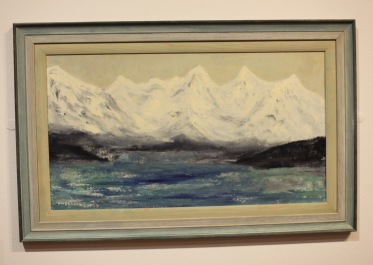 Margery's painting 10 From her trip to Norway