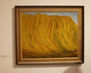 Margery's painting 14 'Wave Rock, W. Australia'