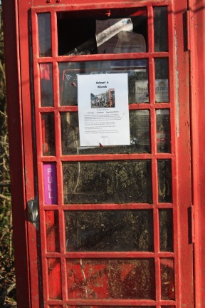 Telephone box Adopt a kiosk 1