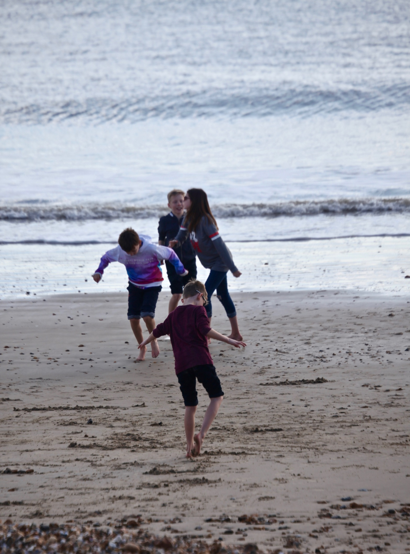 Children on beach 2