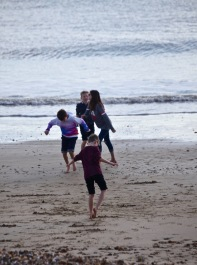Children on beach 2