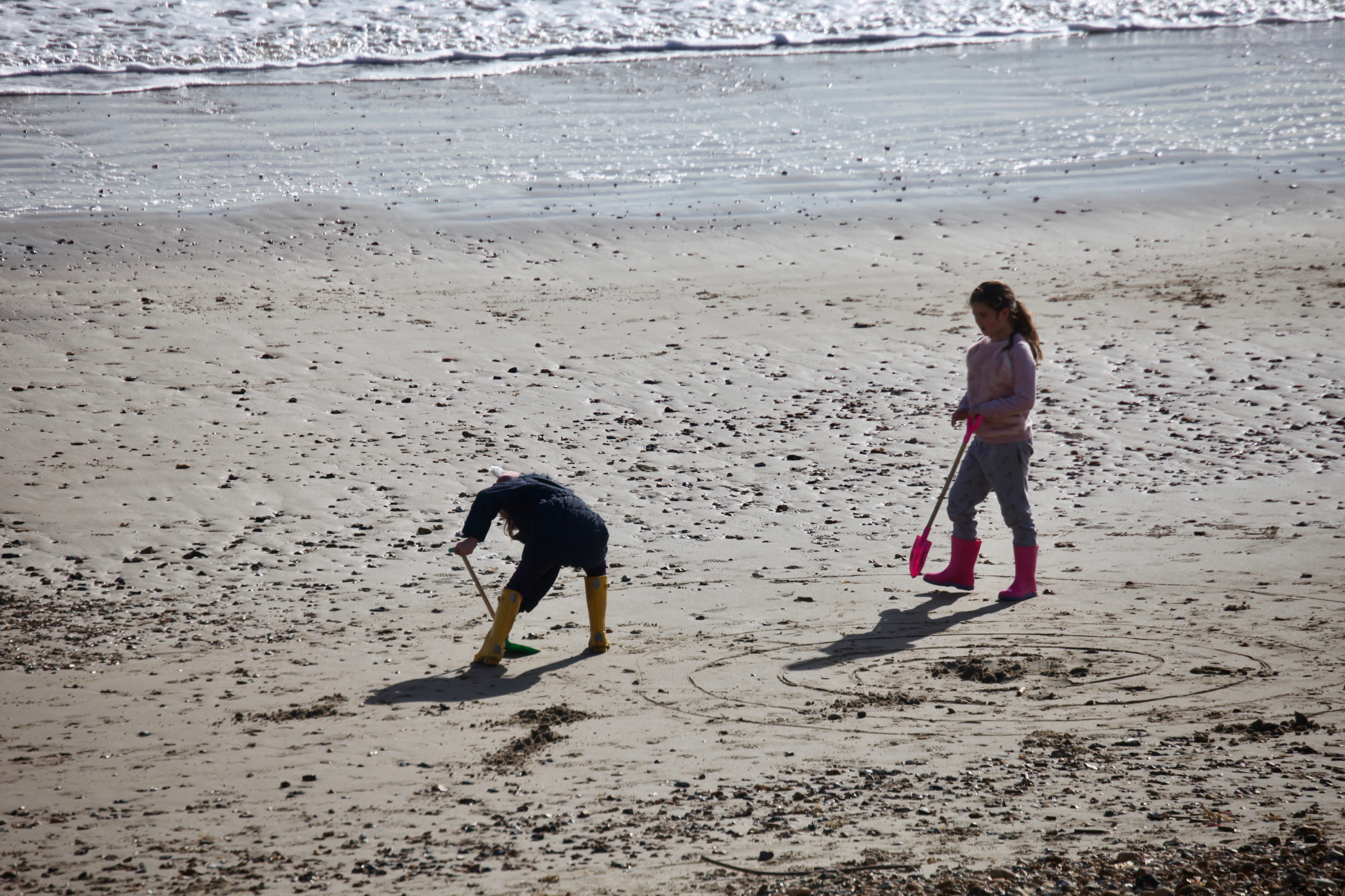 Children on beach 3