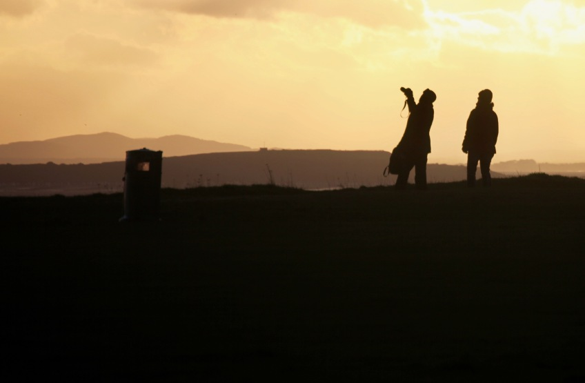 Figures in sunset 8