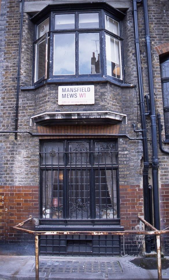 Mansfield Mews W1 7.04
