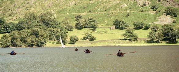 Boats on lake 18.8.92