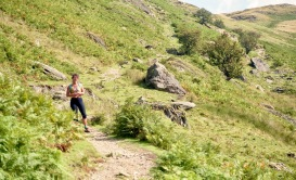 Jessica on Place Fell 18.8.92 3