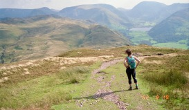 Jessica on Place Fell 18.8.92 4