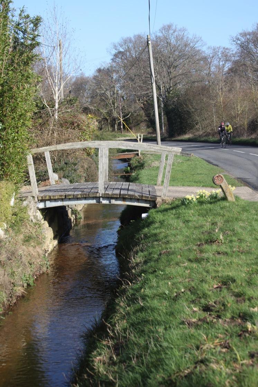Bridges over stream 3