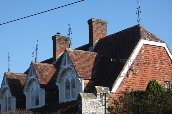 Gabled rooftops