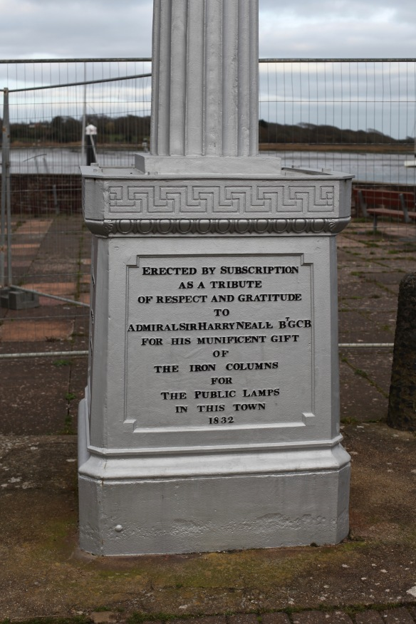 Lymington gas monument 3