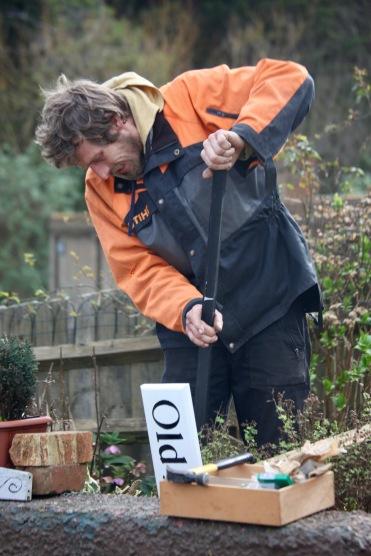 Aaron fixing House Name 1