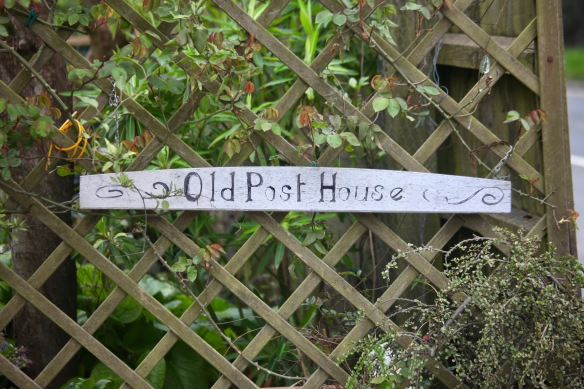 Old Old Post House sign