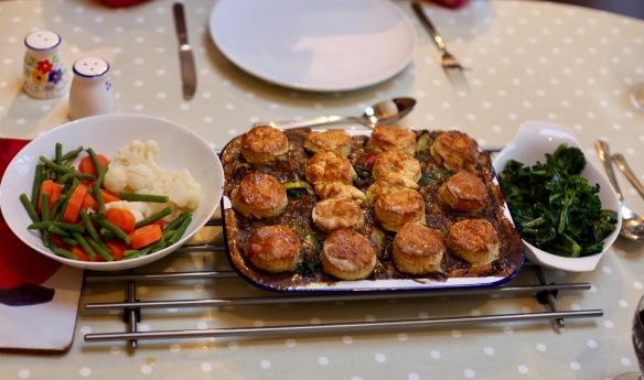 Beef cobbler meal