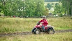 Louisa on quad bike 17.8.92 1