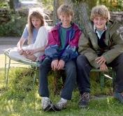 Louisa, Sam, and James 17.8.92 2