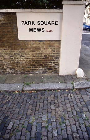 Park Square Mews NW1 8.04 1