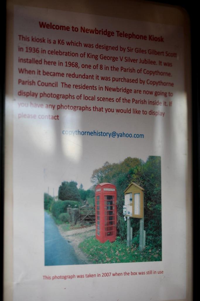 Newbridge Telephone Kiosk 1