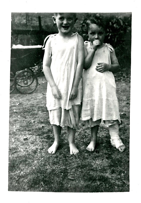 Derrick and Chris 1947