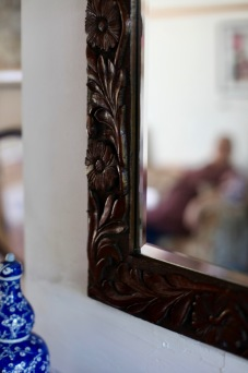 Carving on mirror 2