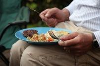 Food on plate 1
