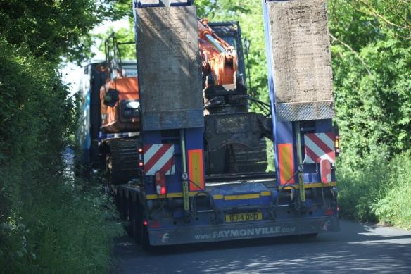 Crane transporter 1