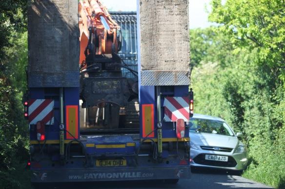 Crane transporter 2