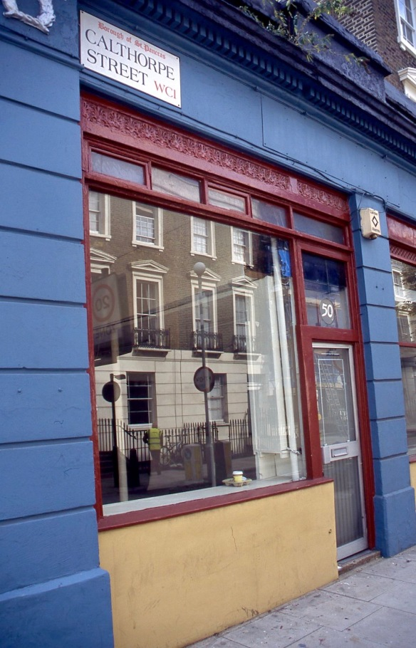 Calthorpe Street WC1 9.04