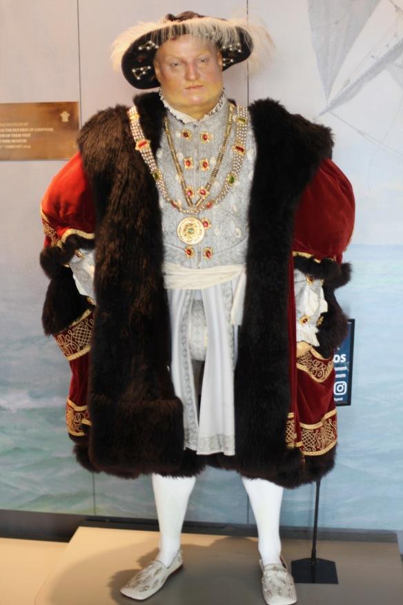 King Henry VIII waxwork