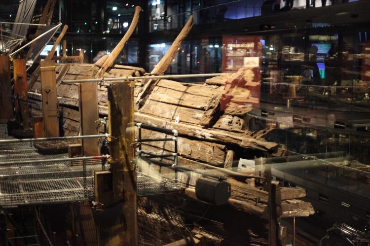 Deck skeleton 3