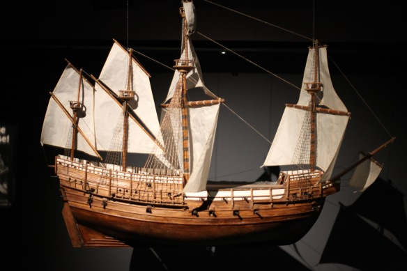 Mary Rose model