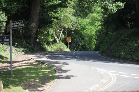 Hill outside Burley