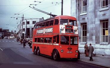Trolley Bus by David Bradley Online