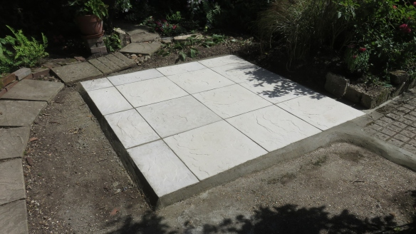 Base for greenhouse