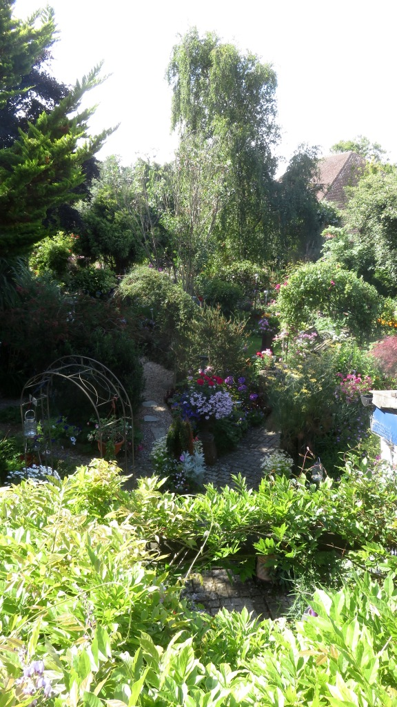 Garden view from Bathroom window