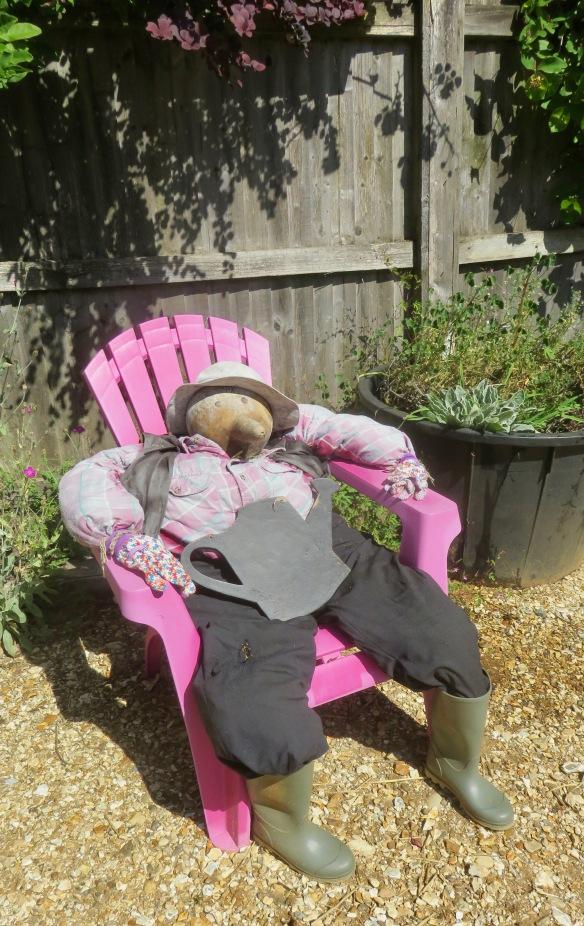 Scarecrow gourd