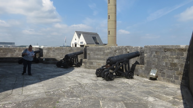 Jackie and cannons