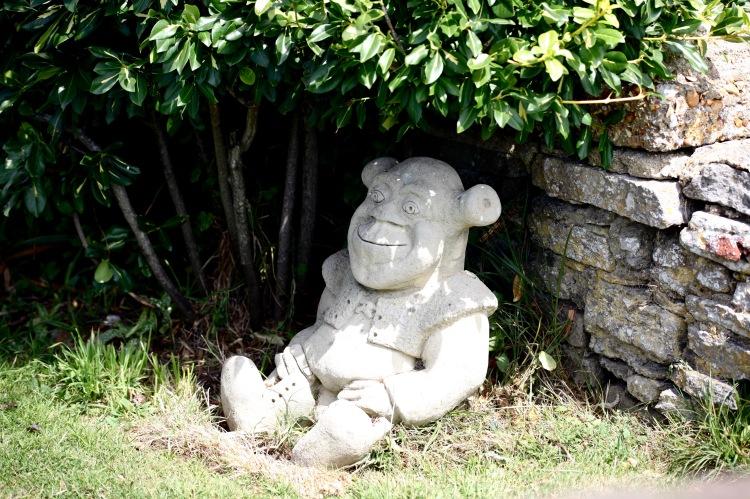 Ogre sculpture