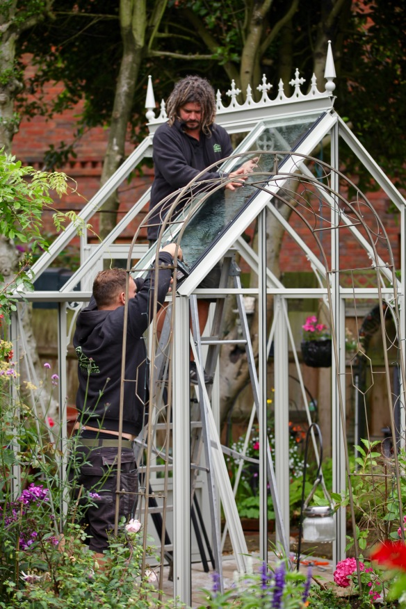 Greenhouse installation 4
