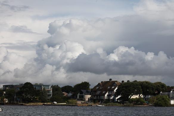 Mudeford clouds