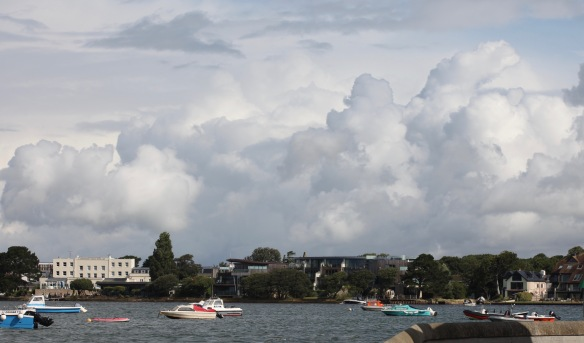Mudeford, clouds 2