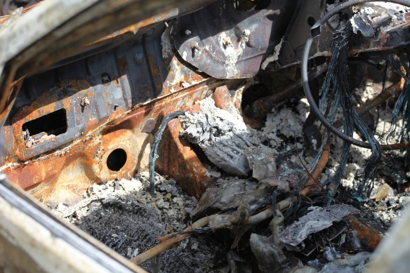 Burnt out car 4