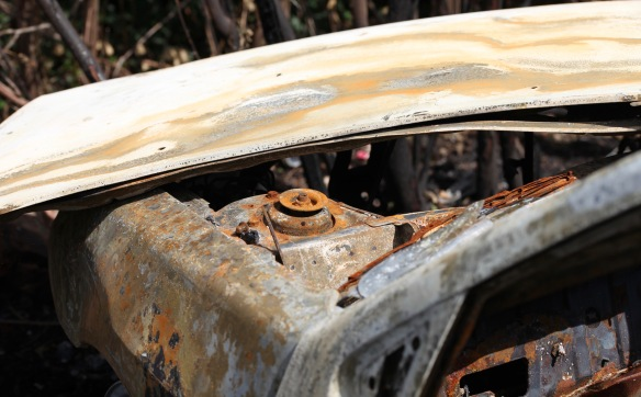 Burnt out car 5