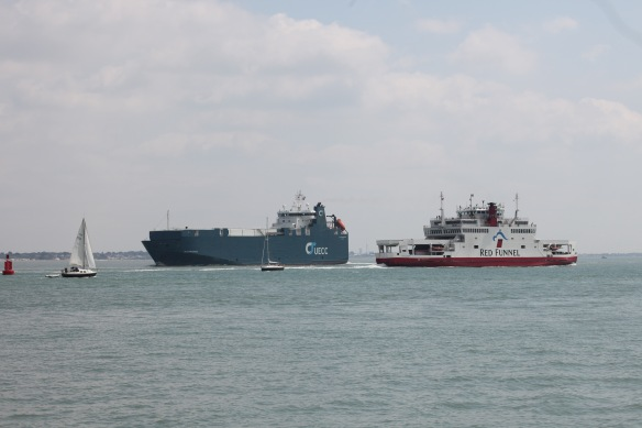 Vehicle carrier, ferry boat, yachts