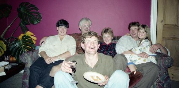 Michael, Becky, Derrick, Sam, Matthew, Louisa 4.10.91 2