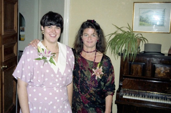 Jessica and Becky 5.10.91