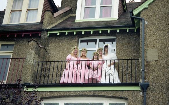 Heidi, Louisa, and other bridesmaids 5. 10.91