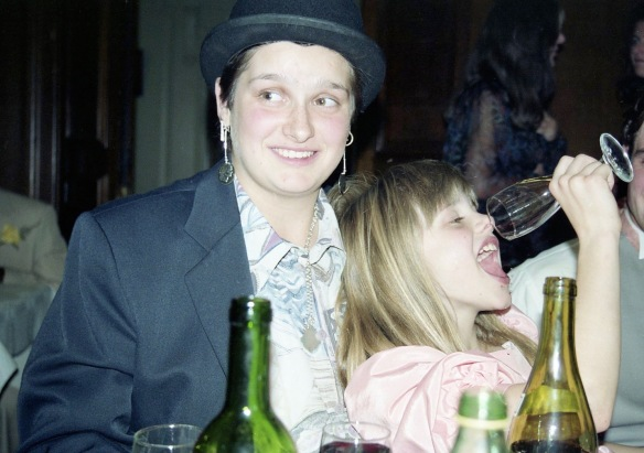 Alex and Louisa 5.10.91