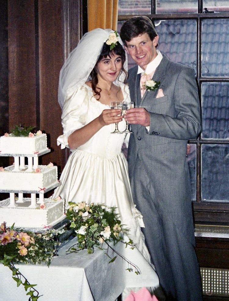 Michael and Heidi 5.10.91